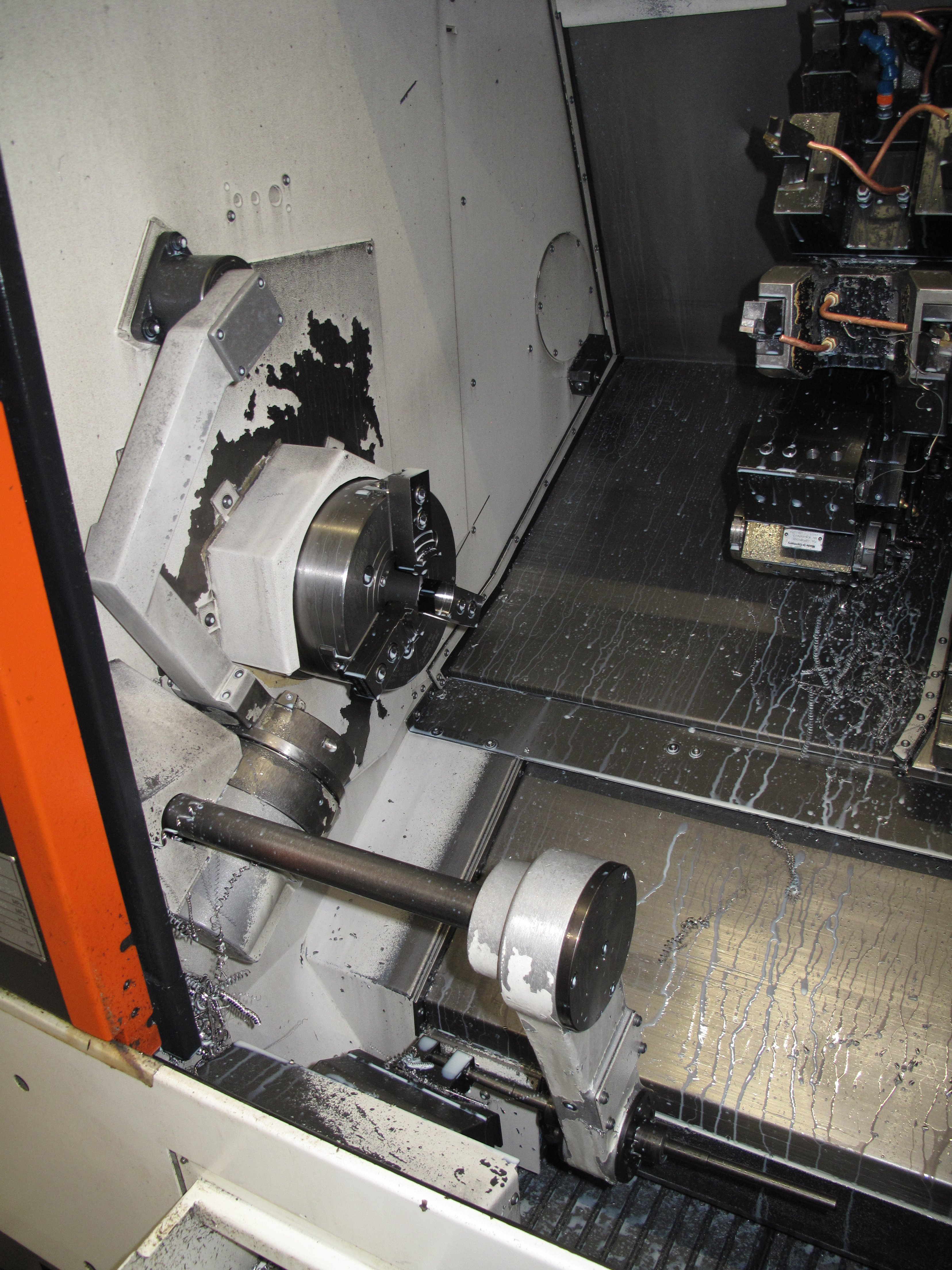 QTNX 200II MY Main Spindle and parts catcher